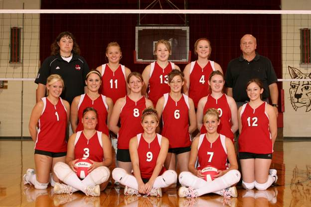 Description: J:\Yearbook Pictures\2008-2009\Groups\3146 Varsity VB TEAM.JPG