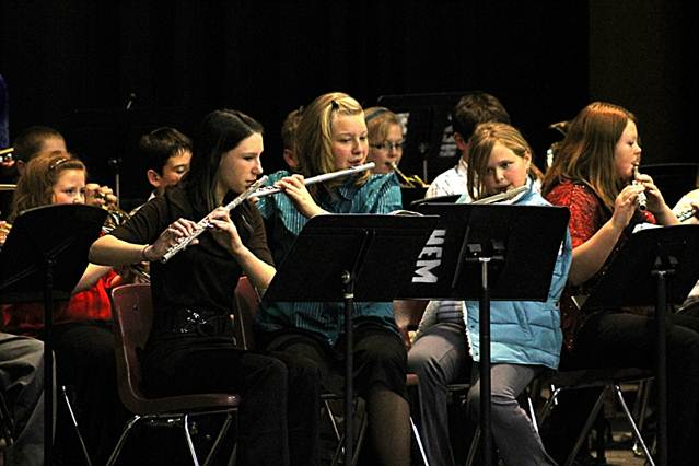 Description: S:\STAFF\cningen\ARC. PIX\MUSIC DEPT\Music 2011\2011 (K-12) Christmas Concert\5th-6th Band.JPG