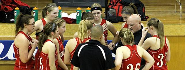 Description: S:\STAFF\cningen\ARC. PIX\BASKETBALL\GIRLS BB\GBB 2011- 2012\GBB @ Banner Co Jan. 2012\GBB Team Timeout.JPG