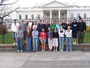 World Strides Group in front of the White House