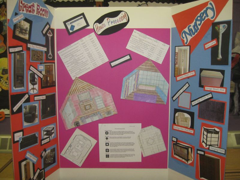 Hemingford Public School District 10 Fcs4 Class Completes Interior Design Projects